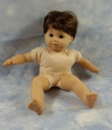 American Girl Bitty Baby Twin Doll Brown Hair Eyes - Retired Collectors Item - Ready To Be Loved By in Yorkville, Illinois