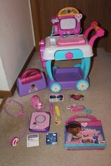 Doc McStuffins Toy Hospital Care Cart, Hospital Bag, Book of Boo Boos, Friendship Book, Accessories in Bolingbrook, Illinois