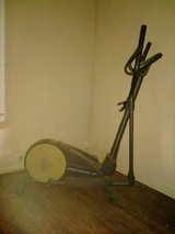 Gold's Gym elliptical in Fort Knox, Kentucky