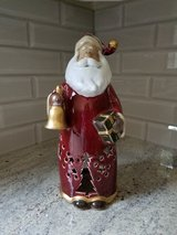 Tall Santa votive candle holder in Westmont, Illinois