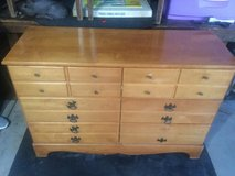 """Heavy duty wood Dresser - all drawers work as they should. 50"""" width 34 high"""" 18"""" deep. Well mad... in Joliet, Illinois"""