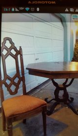 Vintage dining table & chairs in Vacaville, California