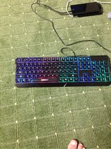 elegant gaming keyboard obo/accepting trades in Los Angeles, California