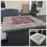 Propane Outdoor Fire Pit in Yorkville, Illinois