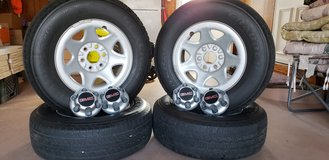 Complete tire and wheel set in Aurora, Illinois