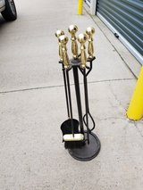 Brass/Black Fireplace Tools in Hopkinsville, Kentucky