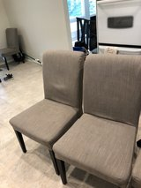 6 gray fabric chairs in Orland Park, Illinois