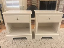 Stanley White Nightstands - Set of 2 in Orland Park, Illinois
