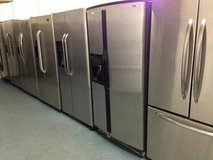 Stainless Steel Double door and Top Bottom Refrigerator Units in Camp Pendleton, California