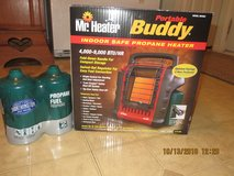 Mr. Heater F232000 MH9BX Buddy 4,000-9,000-BTU Indoor-Safe Portable Radiant NIB in Glendale Heights, Illinois