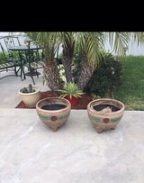 New clay pots in Vacaville, California