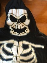 Halloween skeleton costume hoodie mask so xl in Stuttgart, GE