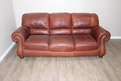 Leather Sofa in great condition! VERY comfortable in Kingwood, Texas