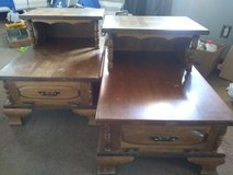 End tables with drawer in 29 Palms, California