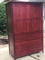 Mahogany Dresser Armoire in Glendale Heights, Illinois