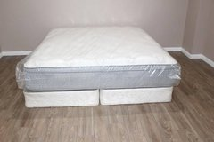 King Size Mattress Set - Restonic Comfort Care Select - Kingston FREE DELIVERY in Spring, Texas