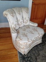 Vintage chair in Yorkville, Illinois