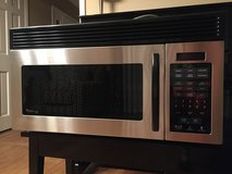 Stainless steel over-the-range microwave in Bartlett, Illinois