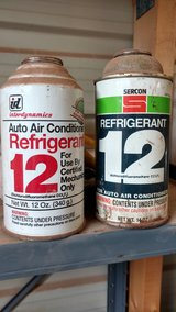R-12.     two cans in Alamogordo, New Mexico