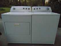 WHIRLPOOL WASHER & GAS DRYER in Cherry Point, North Carolina