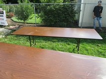 2 Rectangle Tables in Tinley Park, Illinois