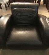 Leather chairs and ottoman in Fairfield, California