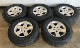 Jeep Wrangler tires (set of 5) in Plainfield, Illinois