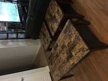 Faux Marble Coffee Table and End Tables in Fort Bliss, Texas