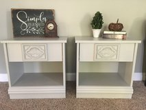 Pair of vintage nightstands in Yorkville, Illinois