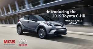 Order Yours! 2019 Toyota C-HR in Spangdahlem, Germany