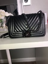 Black Chanel Inspired Handbag in Fort Leonard Wood, Missouri