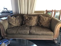 Couch with 3 pillows in Stuttgart, GE