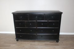 Black Distressed Dresser in great condition!  FREE DELIVERY in Spring, Texas