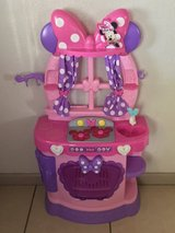 Disney Minnie Mouse Bow-Tique Sweet Surprises Kitchen w/Sounds So Cute! in Fairfield, California