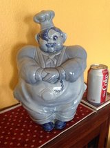 Red wing chef cookie jar- perfect! in Fairfield, California