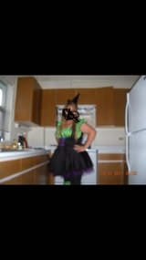 Halloween plus size sexy  witch costume in Travis AFB, California