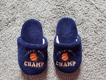 Boys Slippers Basketball Champ 12 - 13 in Fort Campbell, Kentucky