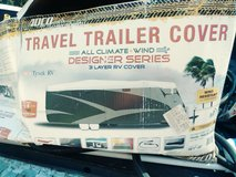 Adco Travel Trailer/Camper cover, with wheel covers in Hinesville, Georgia