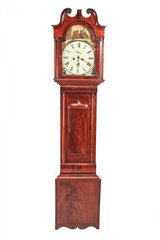 Antique Mahogany 8 Day Longcase Clock in Vacaville, California