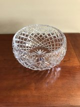 IRENA 24% LEAD CRYSTAL BOWL - MADE IN POLAND in Lockport, Illinois