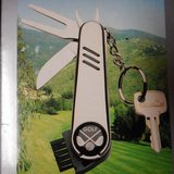 All Purpose Golf Tool Key Chain KT-500 Pocket Gift (Boughton ALS Foundation) NIB in Naperville, Illinois