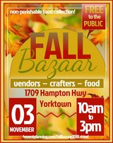 Fall Bazaar in Norfolk, Virginia