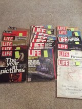 21 old Life and Look Magazines 1967-1983 in Bartlett, Illinois