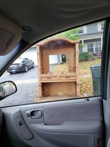 Curb alert - pine entertainment center in St. Charles, Illinois