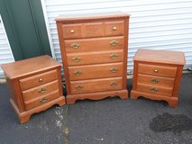 Broyhill Dresser and 2 Night Stands in Chicago, Illinois