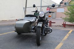 2015 Ural M70 - practically new in Fort Irwin, California