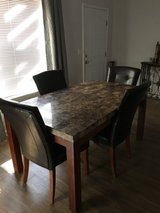 Marble Tile Dining Room Table in Fort Bliss, Texas