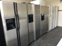 Many Side by Side Refrigerators in Camp Pendleton, California