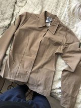 women's khaki long sleeve blouse in Los Angeles, California