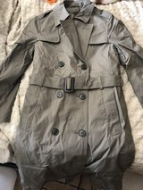 USMC trench coat in Los Angeles, California